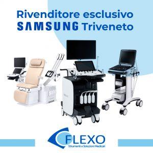Flexo medical è distributore esclusivo di Ecografi ed Elettromedicali Smasung nel Triveneto